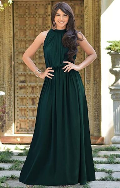 Affordable Bridesmaid Dresses | Sexy Sleeveless Summer Gown