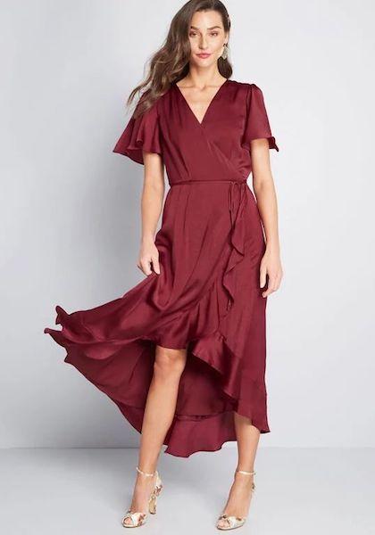 Affordable Bridesmaid Dresses | Stunning Wonder Maxi Wrap Dress