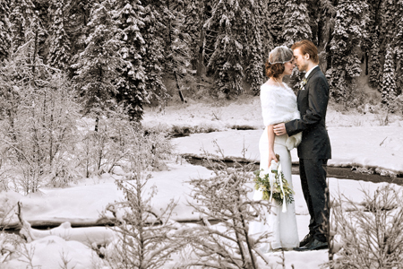 Planning a destination wedding | Winter wedding