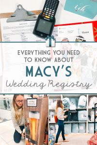 Everything you Need to Know About a Macy's Wedding Gift Registry