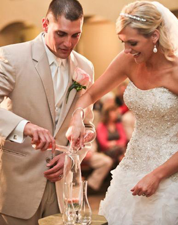 Personalize the Unity Candle Ceremony at your Wedding