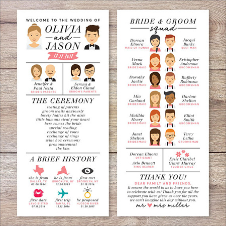 A Guide to Personalizing Your Wedding Ceremony | Choose a Unique Wedding Program