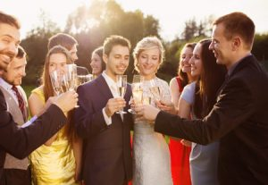 Wedding weekend | Holiday weekend wedding