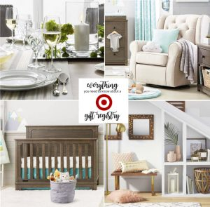 Target Wedding Registry and Baby Registry