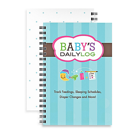 Kahootie Co Baby's Daily Log Notebook BuyBuy Baby
