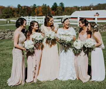 Neutral Bridesmaid Dresses from Macy's