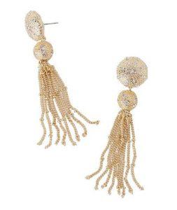 Lilly Pulitzer Sand Dune Tassel Earrings
