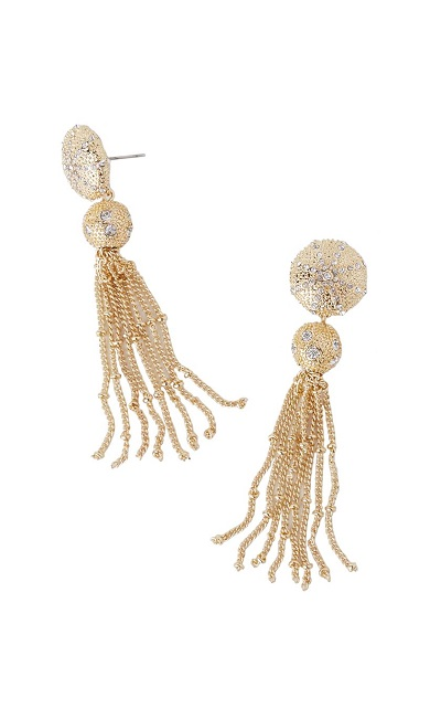Lilly Pulitzer Sand Dune Tassel Earrings