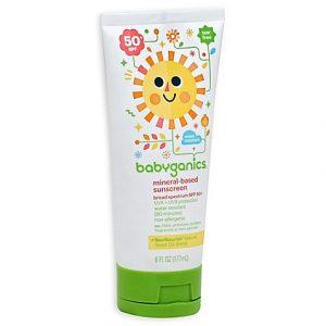 Summer Baby Essentials | Babyganics Sunscreen