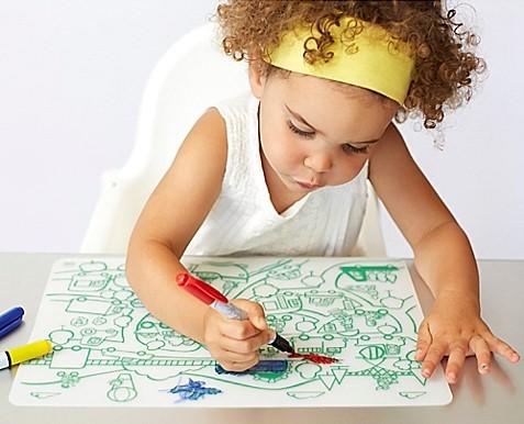 Modern Twist Doodle Placemat
