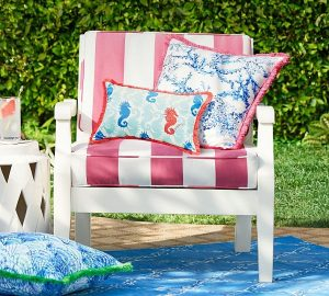 Pottery Barn and Lilly Pulitzer | Outdoor Chair