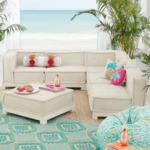 Pottery Barn and Lilly Pulitzer | Couch