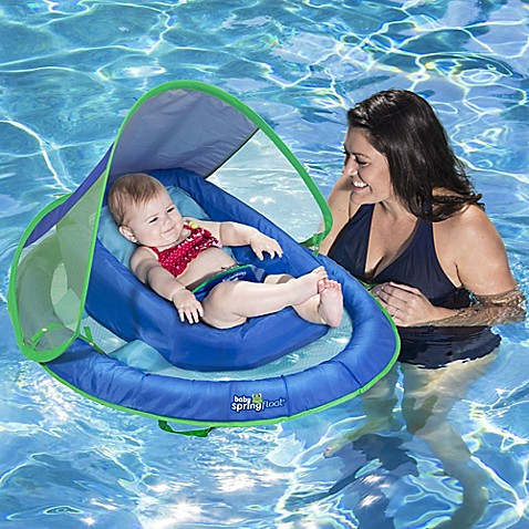 Summer Baby Essentials | SwimWays Infant Pool Float