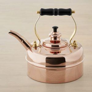 Simplex Kensington No 1 by Newey & Bloomer Copper Traditional Tea Kettle Williams Sonomoa