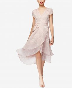 What to Wear to Your Wedding Rehearsal   Wrap Dress
