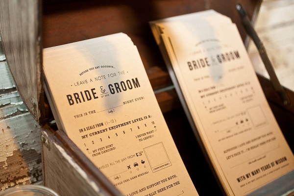 The Best Wedding Guestbook Alternatives | Fill-In-The-Blank Notes