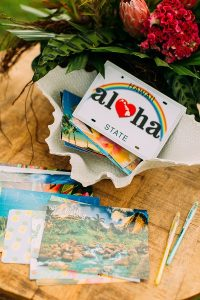 Wedding Guestbook Alternatives for the Modern Couple   Postcards in a Mailbox