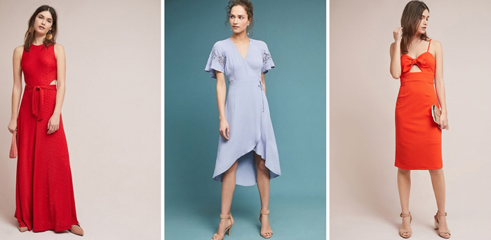 Anthropologie Dresses for Wedding Guest