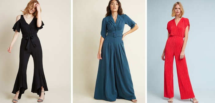 Dressy Jumpsuit for Wedding Guest