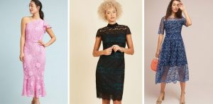 Lace Dresses for Wedding Guest