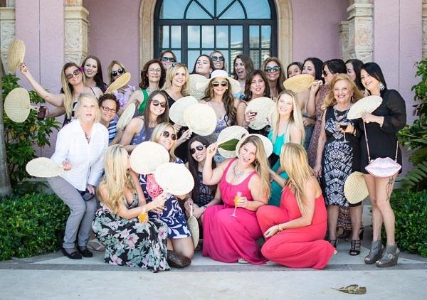 Tropical bridal shower ideas   Boca Resort