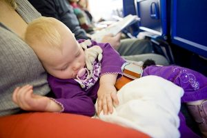 Flying with babies   pack extra clothes