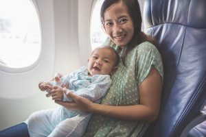 Flying with babies | newborn