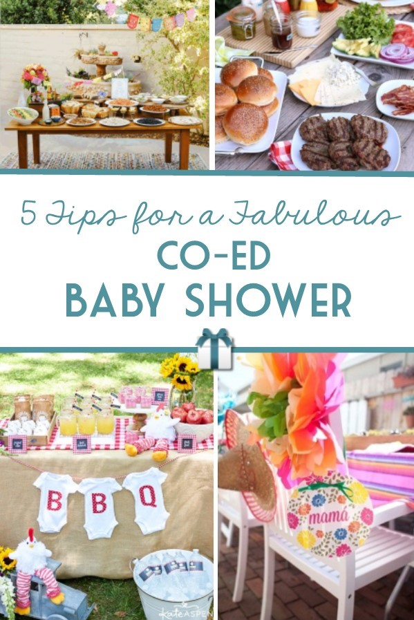 Co-ed baby showers are trending, and we've got five tips to make sure yours is fabulous!