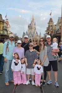 Cinderella's castle and fireworks at Walt Disney World