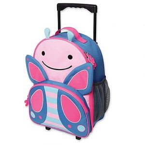 SKIP*HOP® Zoo Little Kid Rolling Luggage
