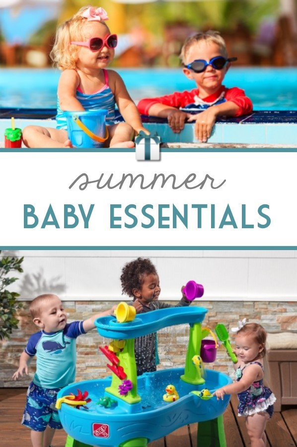 Make the most of your summer by gathering these baby and kid essentials for home, stroller, vacation, and fun in the sun!