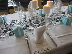 Bridal shower themes | Breakfast at Tiffanys