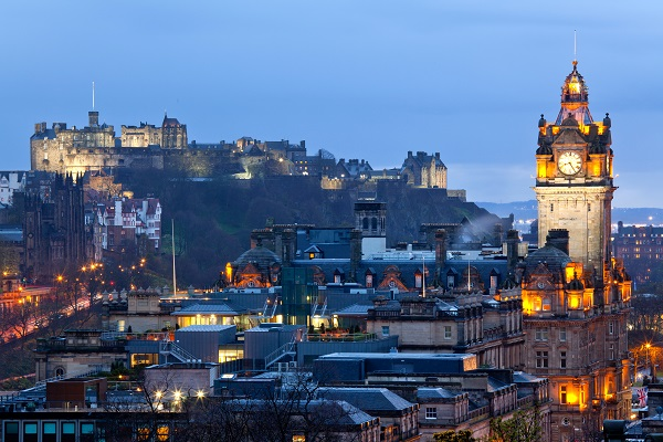 Fall honeymoon | Edinburgh honeymoon