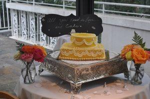 English Tea Bridal Shower Cake