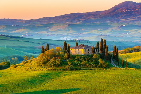 Fall honeymoon | Tuscany honeymoon