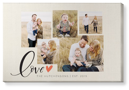 Shutterfly gift canvas print