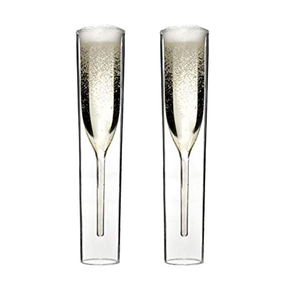 Amazon Wedding Registry | Inside Out Champagne Glasses