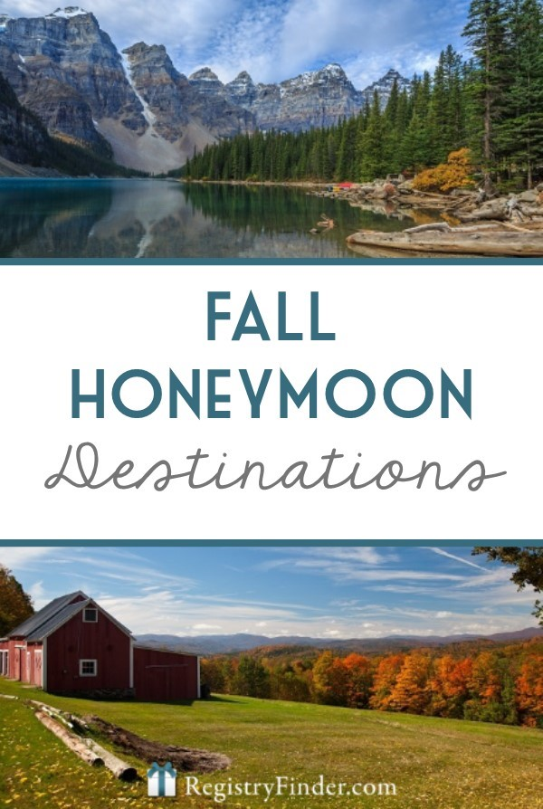 Trying to plan a fall honeymoon? Consider one of our top fall destinations below. They're sure to make you fall deeper in love with each other… and where you are.