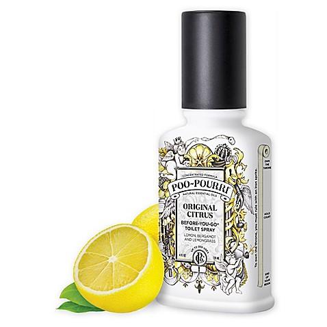 Poo-Pourri Before you Go Toilet Spray Original Citrus | Spa Bathroom Tips
