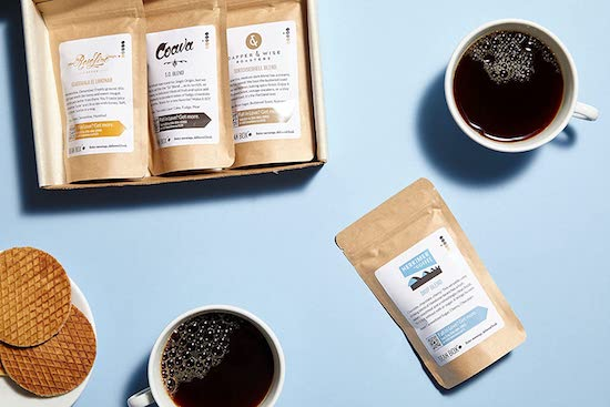 Wedding Registry Items That Will Excite Your Groom   Coffee Sampler Subscription Box