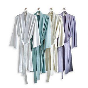 Under the Canopy Organic Cotton Kimono Robe | Spa Bathroom Tips