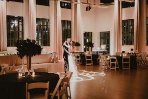 Private last dance wedding reception