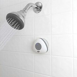 Sharper Image Bluetooth Shower Speaker White | Spa Bathroom Tips
