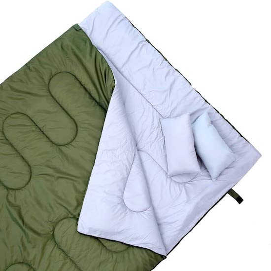 Wedding Registry Items That Will Excite Your Groom   2-Person Sleeping Bag