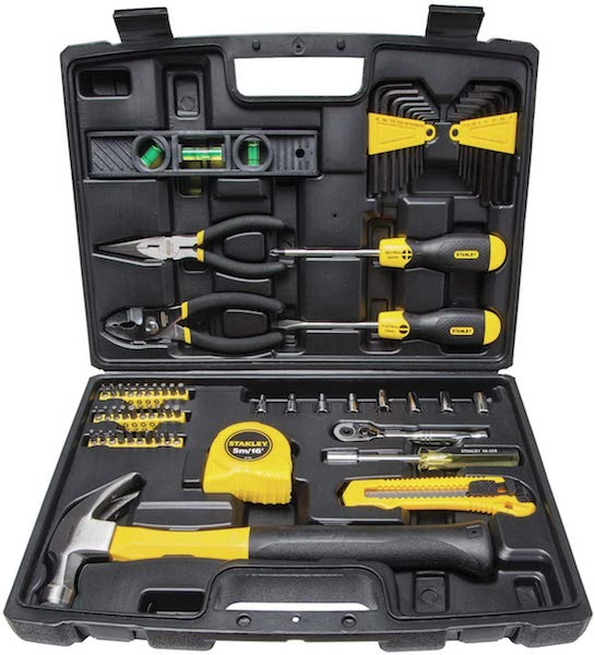Wedding Registry Items That Will Excite Your Groom | Stanley 65-Piece Homeowner DIY Tool Set