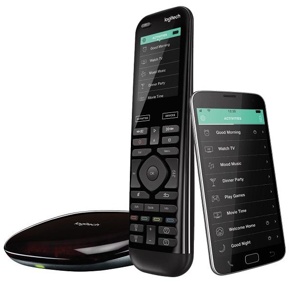 Smart Home Gadgets to Make Life Easier   Logitech Remote Control