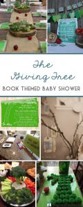 Book Themed Baby Shower Inspiration | The Giving Tree