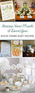 Gender Neutral Book Themed Baby Shower Inspiration