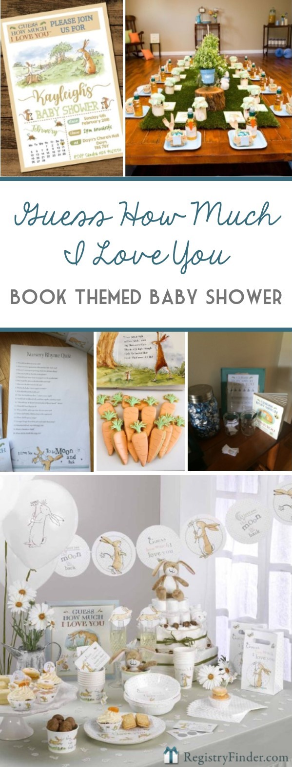 Gender Neutral Book Themed Baby Shower Inspiration
