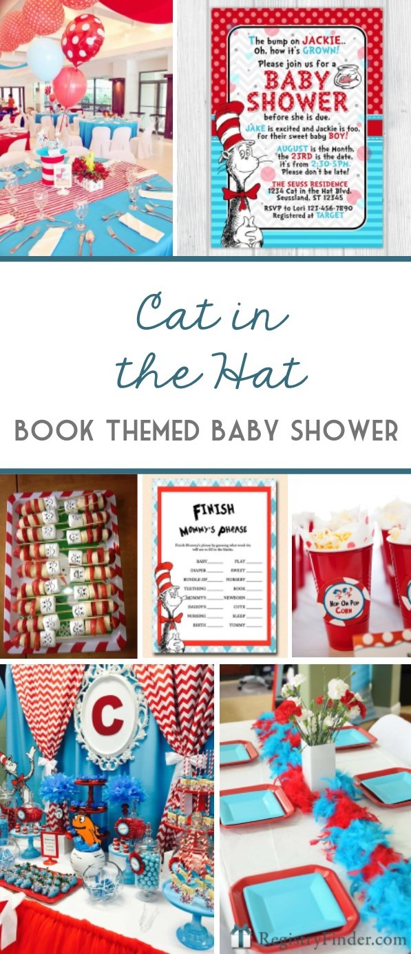 Dr. Seuss Party | Book Theme Baby Shower